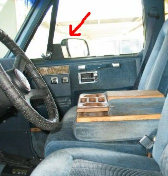 Carl Black Chevrolet >> Mirrors late model Suburban/Blazer 1991 or newer