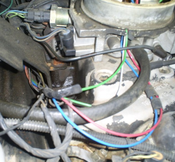Throttle body wiring